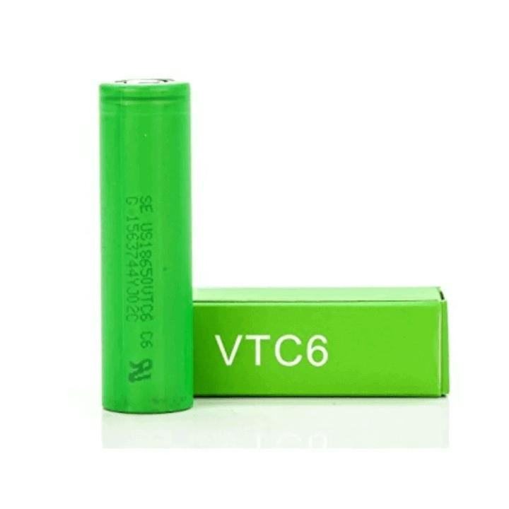 Imagem de uma bateria específica entre as varias baterias para vape que existem