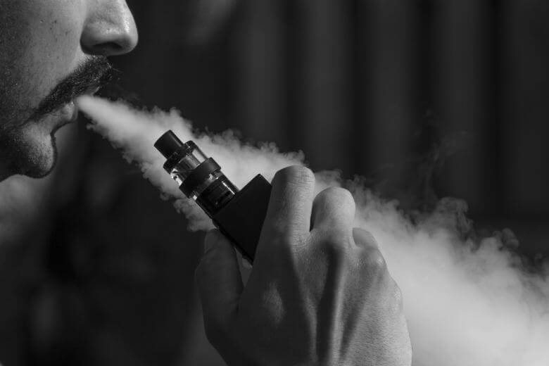 Vape mais potente que usa vapes nicsalt, ou seja, sal de nicotina