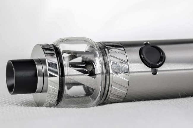 Vape do tipo pen - mais comum para o primeiro uso do vape
