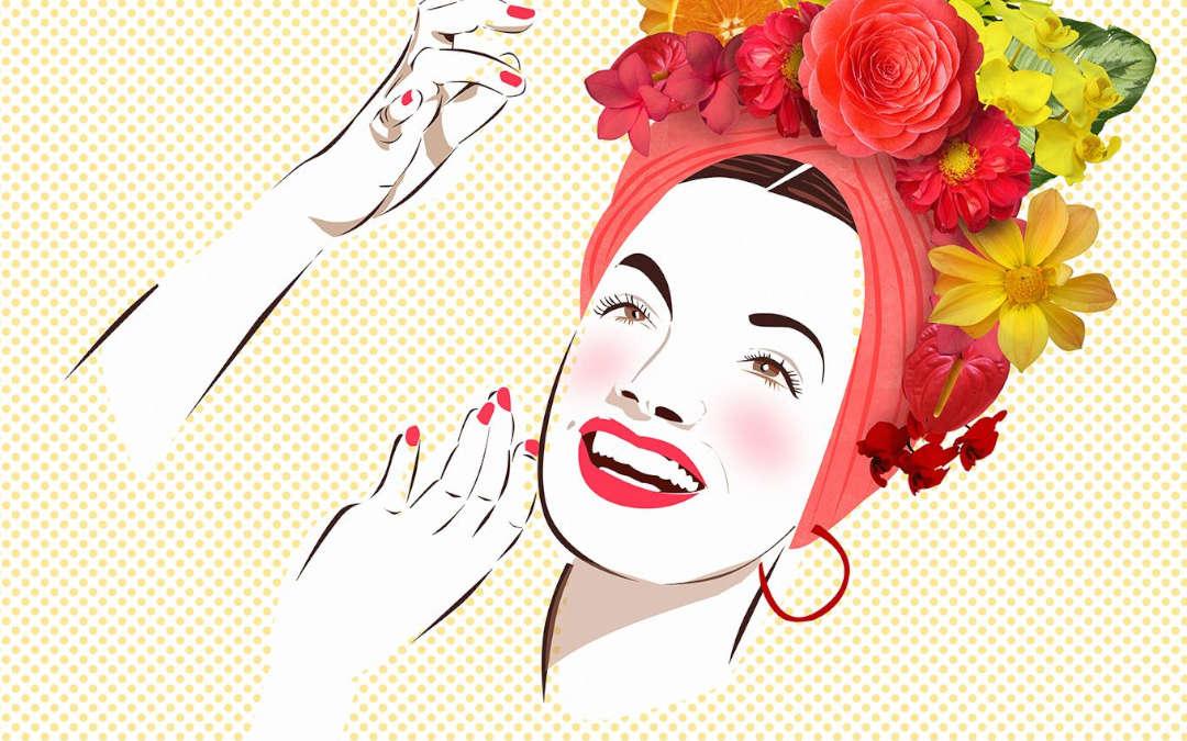Carmen Miranda, nome da cantora e de um juice frutado