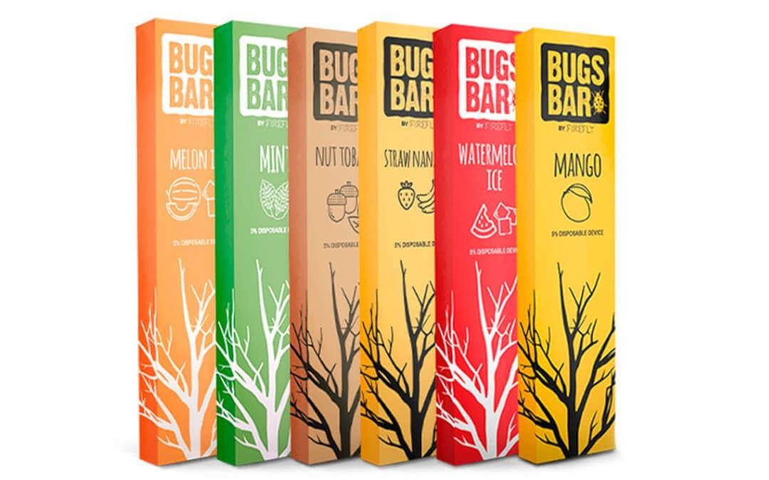 Linha Bugs bar, um dos melhores pods descartáveis