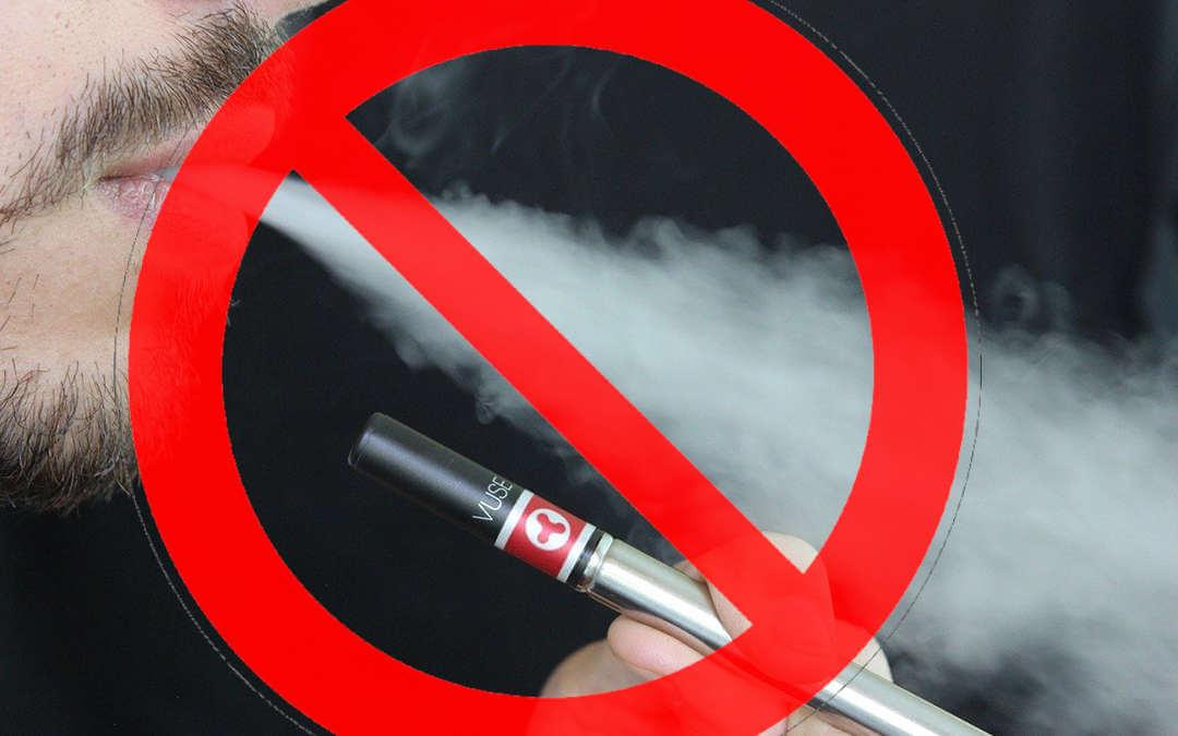 Imagem sobre Não usar cigarro eletrônico