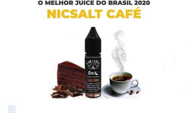 4 melhores juices Nic Salt com sabor café