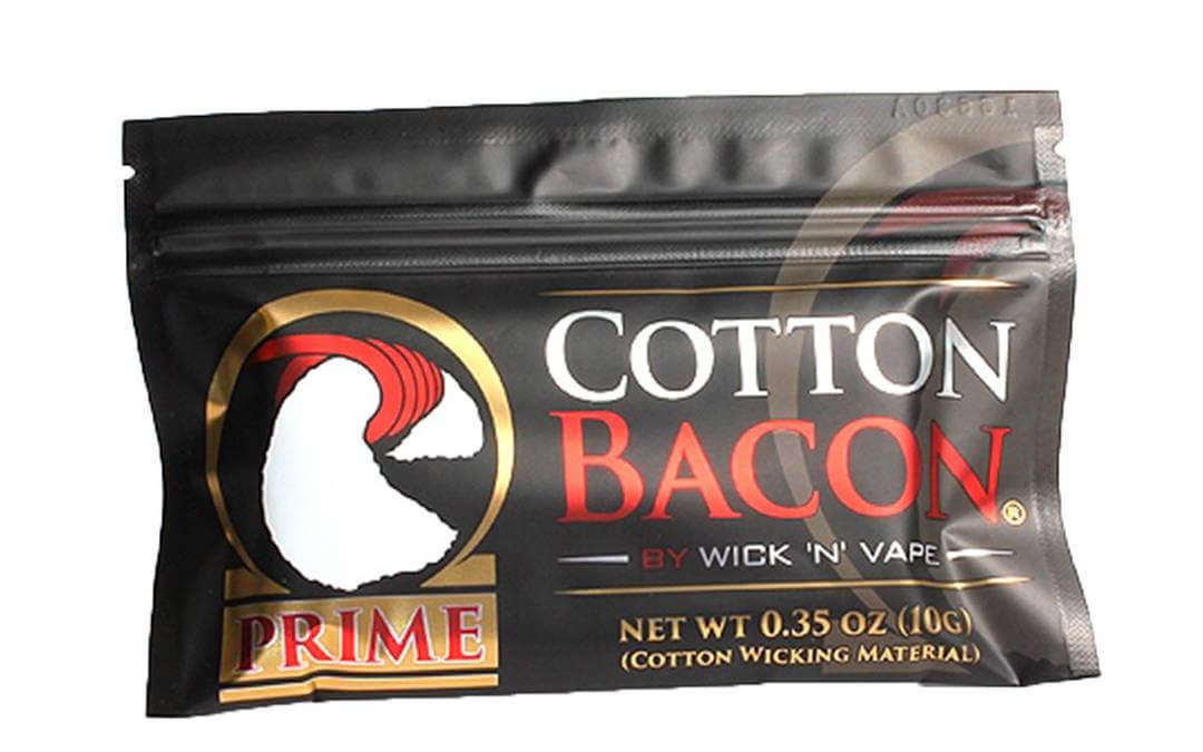 Algodão para vape, cotton bacon