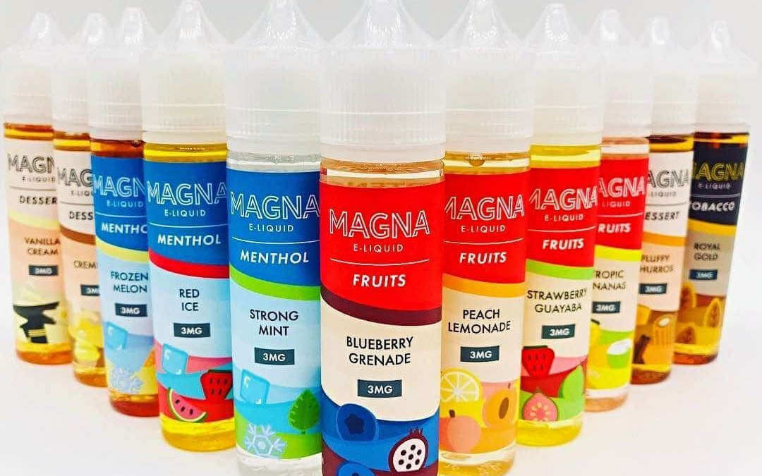 Linha de juices marca Magna