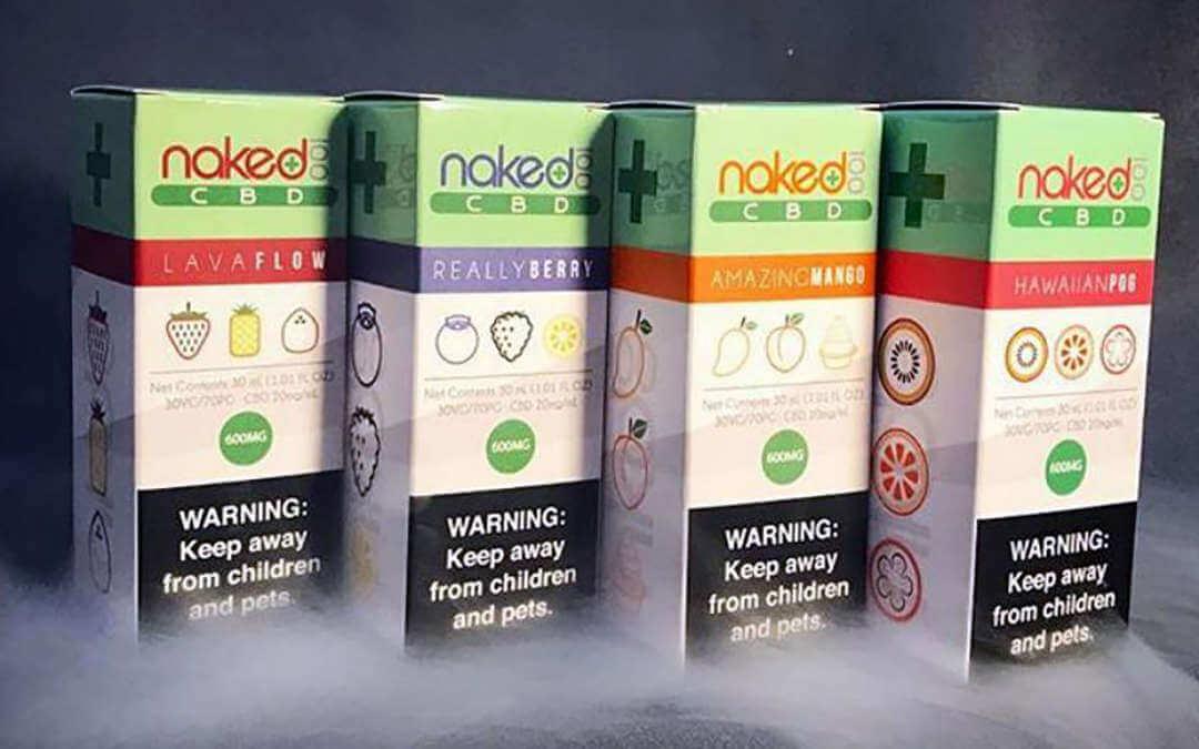 Linha de juices Naked 100 CBD