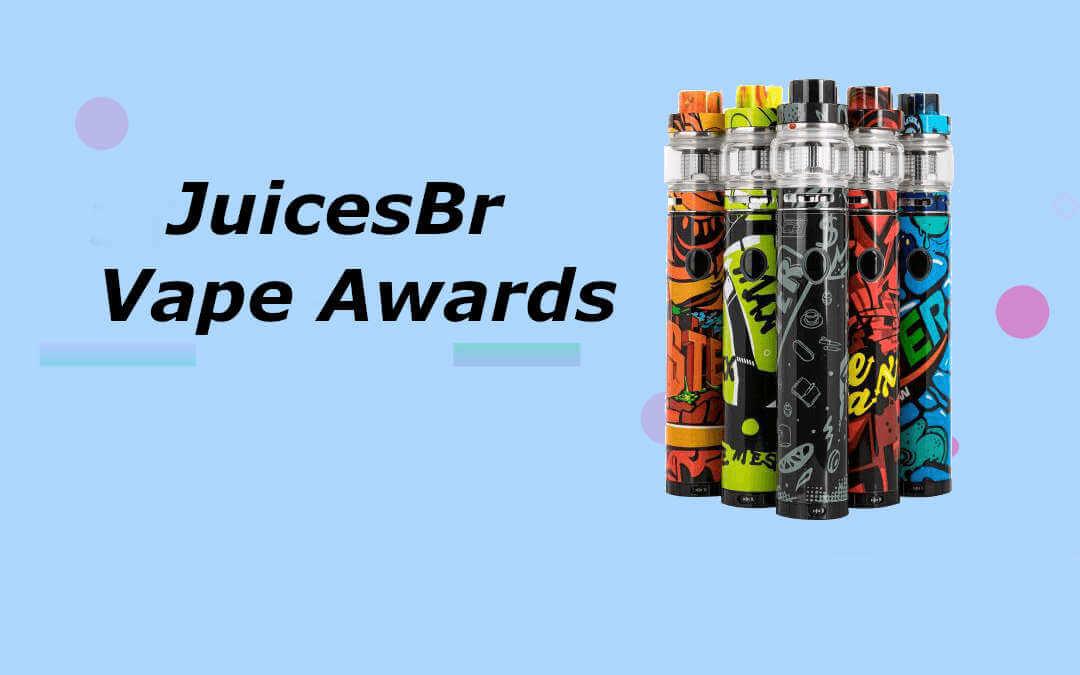 Vape awards, melhores marcas de pods descartáveis
